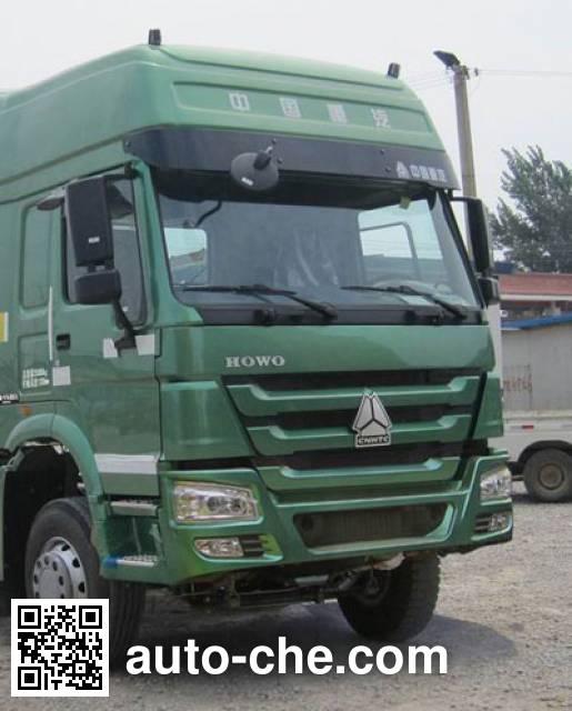 武工牌WGG5251ZLJ自卸式垃圾车