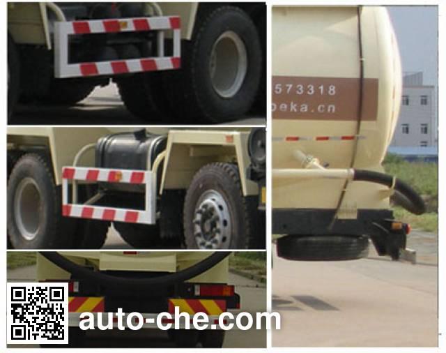 Wugong WGG5310GFLE1 low-density bulk powder transport tank truck