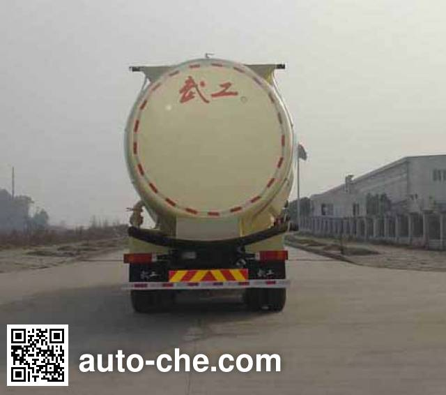 Wugong WGG5310GFLS1 low-density bulk powder transport tank truck