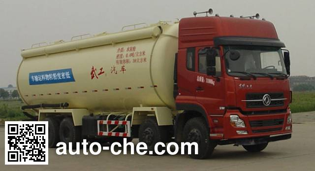 Wugong WGG5311GFLE1 low-density bulk powder transport tank truck