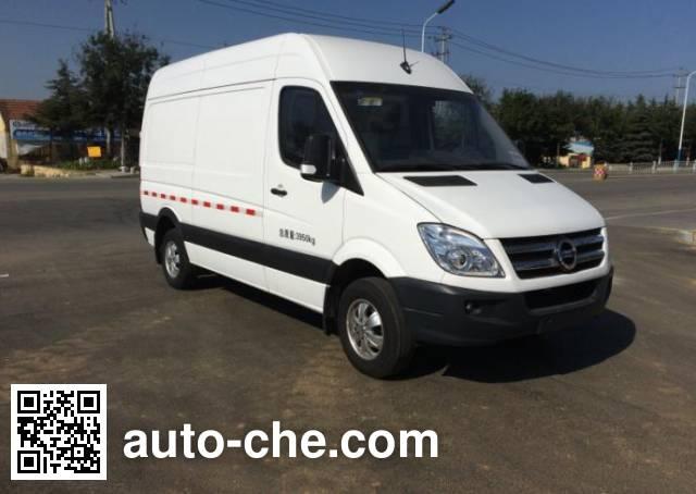 Guangtai WGT5040XXY box van truck