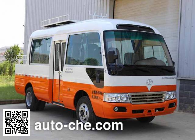 Huazhong WH5065XGCFD engineering works vehicle