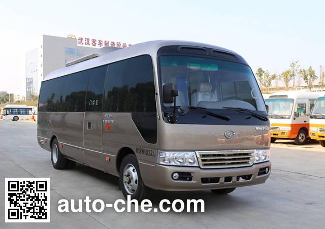 华中牌WH6702BEV纯电动客车