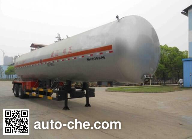 Siliu WHC9300GRQ flammable gas tank trailer