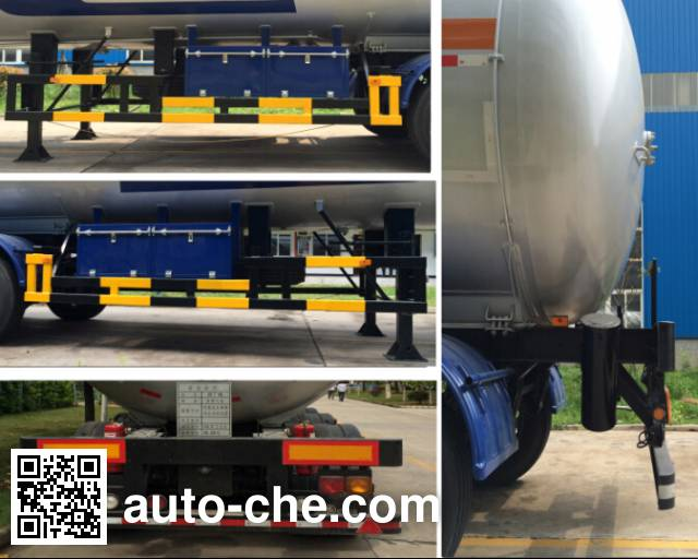 Siliu WHC9409GYQ4 liquefied gas tank trailer