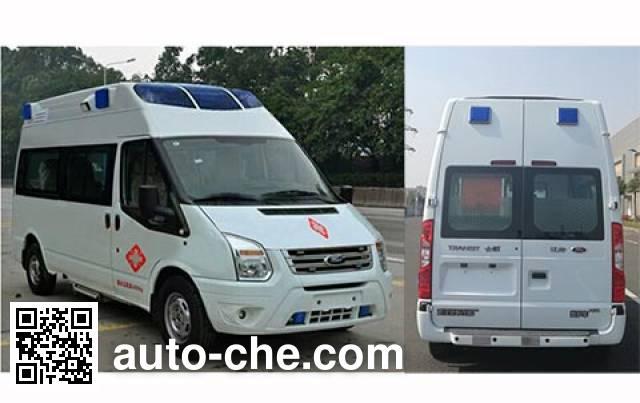 云鹤牌WHG5035XJHB救护车