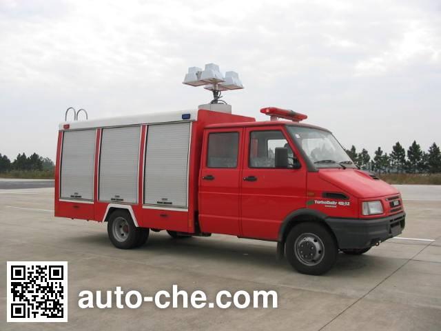 云鹤牌WHG5040TXFJY10抢险救援消防车