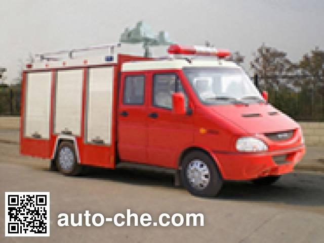 云鹤牌WHG5040TXFJY10E抢险救援消防车