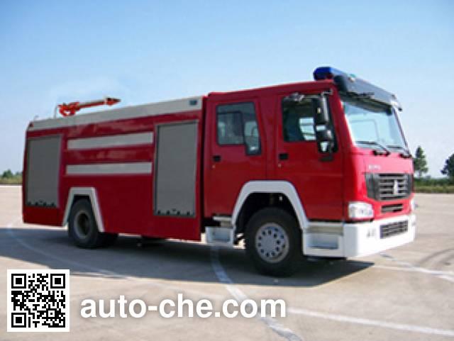 云鹤牌WHG5190GXFPM80W泡沫消防车