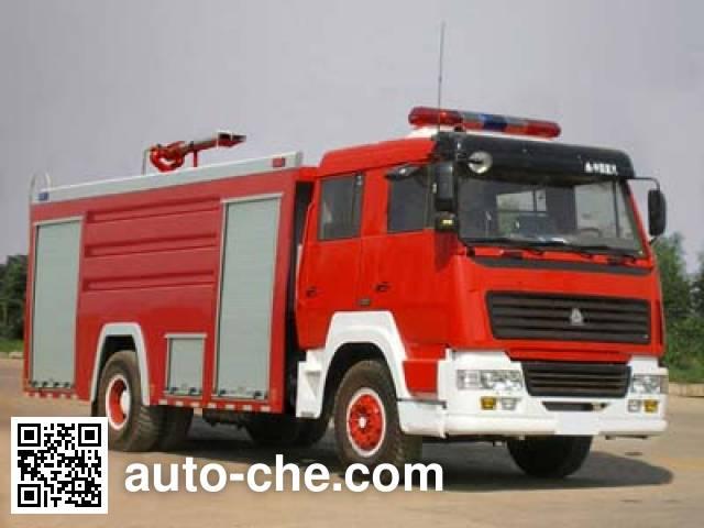 云鹤牌WHG5191GXFPM80泡沫消防车