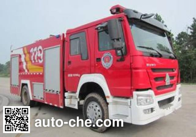 云鹤牌WHG5192GXFPM80泡沫消防车