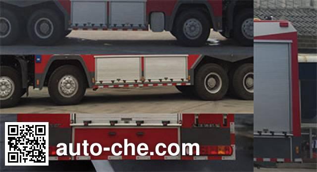 Yunhe WHG5410GXFSG220 fire tank truck
