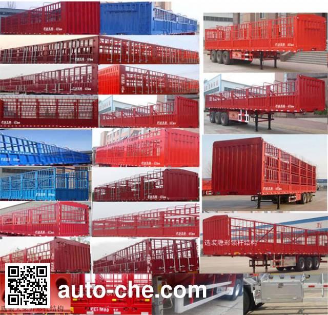 Junwang WJM9401CCY stake trailer