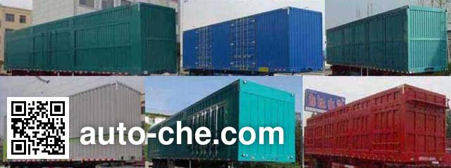 Jufeng Suwei WJM9404XXY box body van trailer