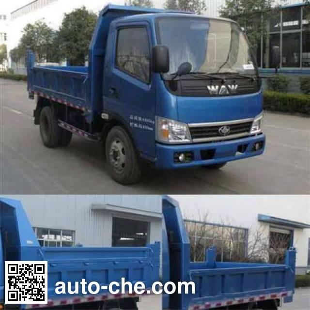 Wuzheng WAW WL4010D1A low-speed dump truck
