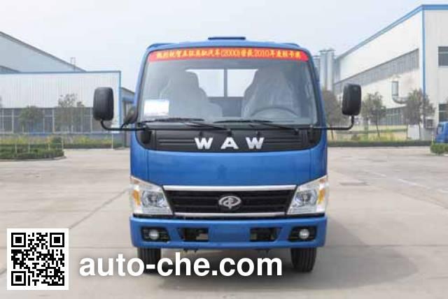 Wuzheng WAW WL4020PD8 low-speed dump truck