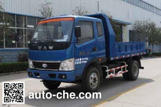 五征牌WL4020PD8自卸低速货车