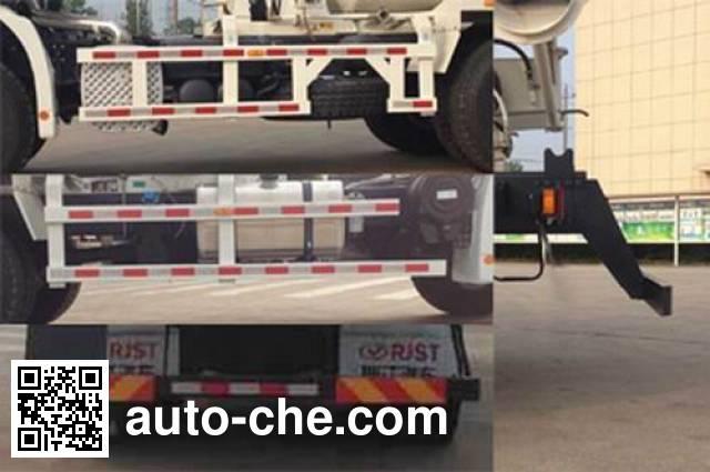 瑞江牌WL5250GJBSQR42混凝土搅拌运输车
