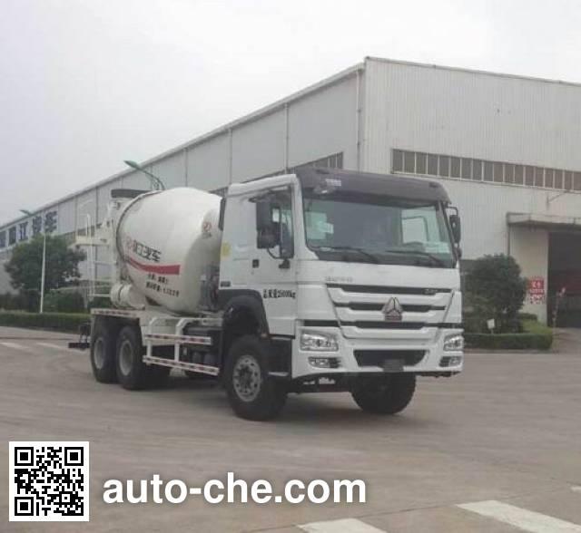 RJST Ruijiang WL5250GJBZZ40 concrete mixer truck