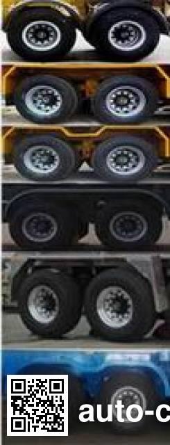瑞江牌WL5251GJBSX44混凝土搅拌运输车