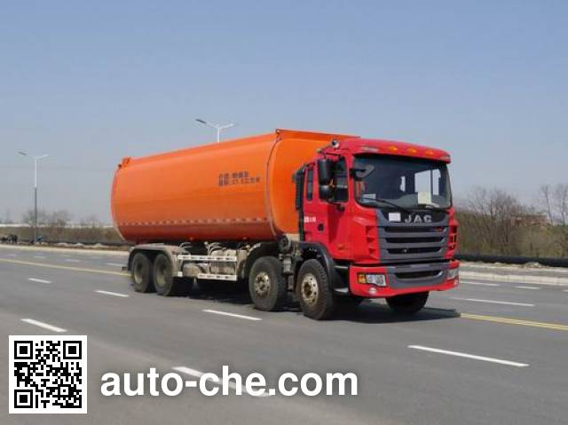 RJST Ruijiang WL5310GFLHF37 low-density bulk powder transport tank truck