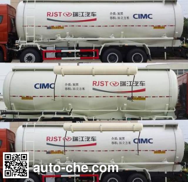 RJST Ruijiang WL5311GFLBJ47 low-density bulk powder transport tank truck