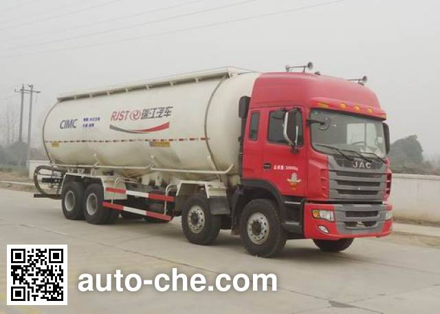 RJST Ruijiang WL5311GFLHFC48 low-density bulk powder transport tank truck