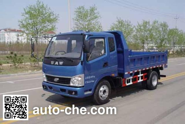 Wuzheng WAW WL5820PD5A low-speed dump truck