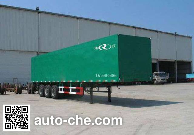 RJST Ruijiang WL9291XXY wing van trailer