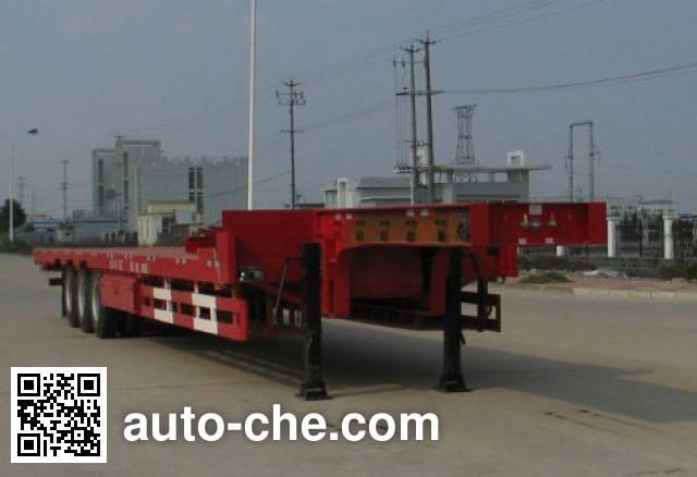 瑞江牌WL9400TDPA低平板半挂车