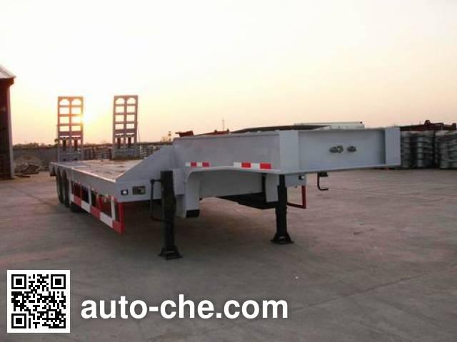 瑞江牌WL9320TDP低平板半挂车
