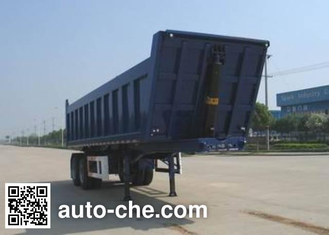 瑞江牌WL9330Z自卸半挂车