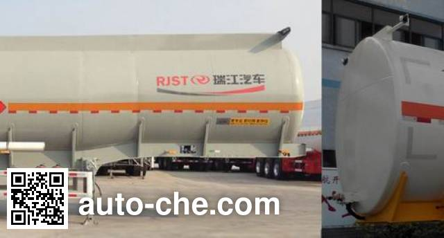 RJST Ruijiang WL9350GRY flammable liquid tank trailer