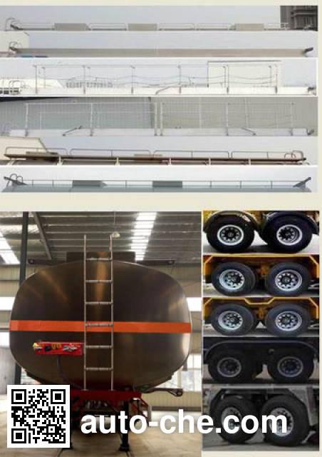 RJST Ruijiang WL9350GYY aluminium oil tank trailer