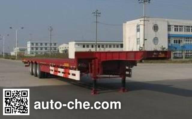 瑞江牌WL9354TD低平板半挂车