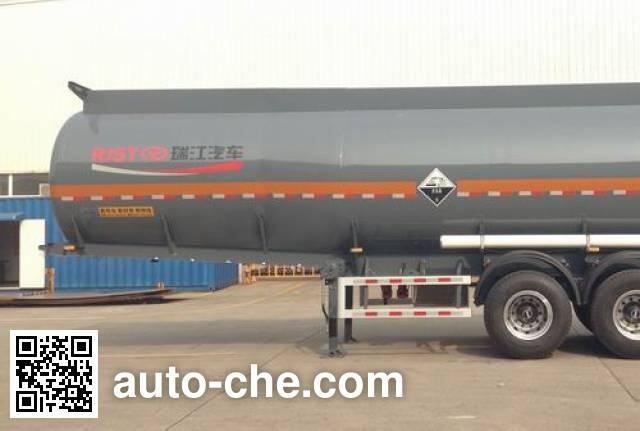 瑞江牌WL9400GFWA腐蚀性物品罐式运输半挂车