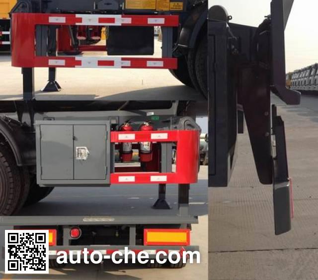 RJST Ruijiang WL9400GFWD corrosive materials transport tank trailer