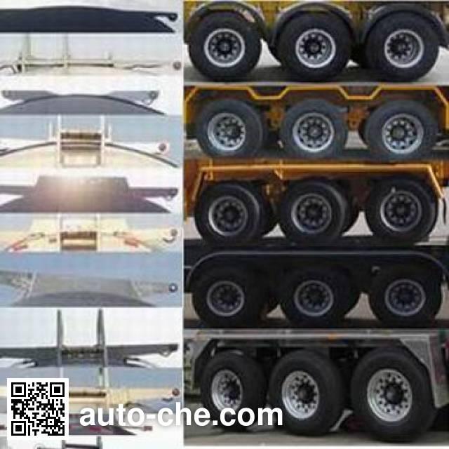 RJST Ruijiang WL9400GRH lubricating oil tank trailer