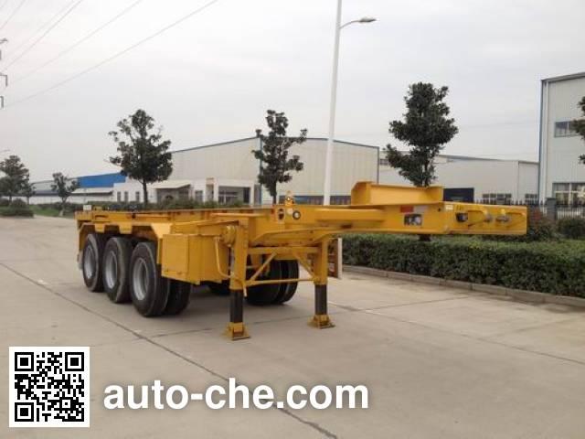 RJST Ruijiang WL9400TWY dangerous goods tank container skeletal trailer