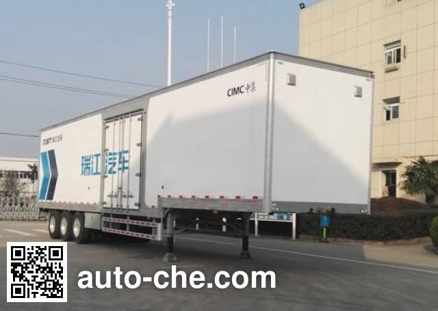 RJST Ruijiang WL9401XXY box body van trailer
