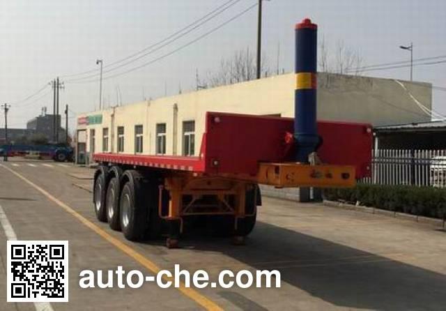 RJST Ruijiang WL9401ZZXP flatbed dump trailer