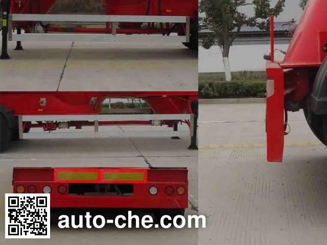 瑞江牌WL9402GFLC铝合金中密度粉粒物料运输半挂车