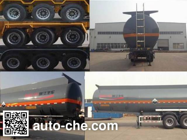 RJST Ruijiang WL9402GFWA corrosive materials transport tank trailer