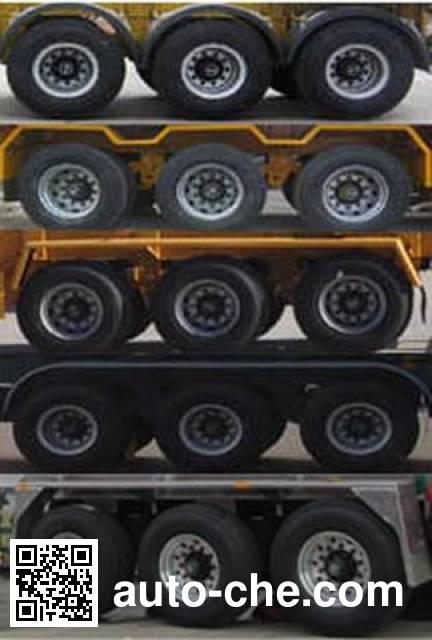 RJST Ruijiang WL9400TWYB dangerous goods tank container skeletal trailer