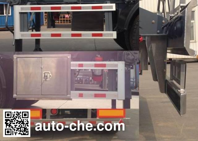 瑞江牌WL9404GFW腐蚀性物品罐式运输半挂车