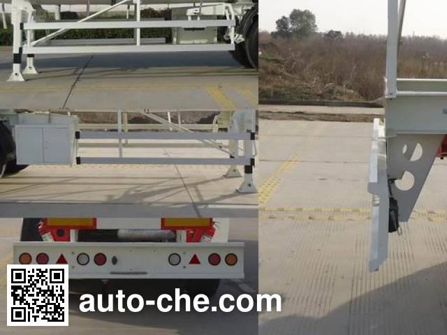 RJST Ruijiang WL9404GRYC flammable liquid tank trailer
