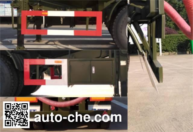 RJST Ruijiang WL9404GXHE ash transport trailer