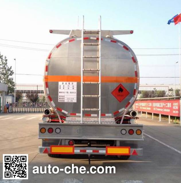 RJST Ruijiang WL9404GYY aluminium oil tank trailer