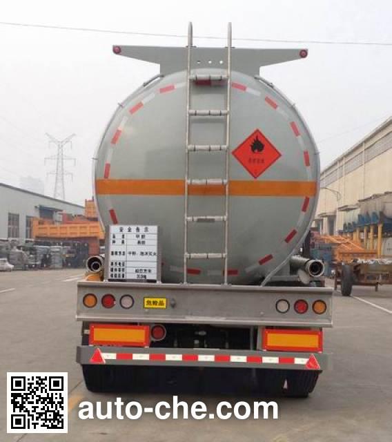 RJST Ruijiang WL9405GRYE flammable liquid tank trailer