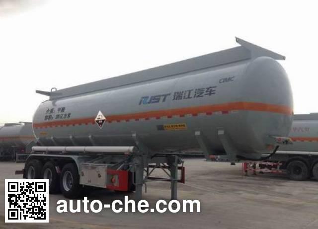 瑞江牌WL9406GFWD腐蚀性物品罐式运输半挂车